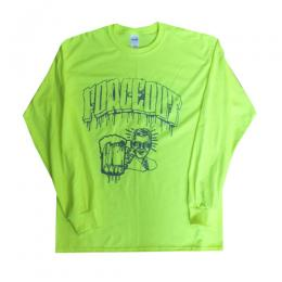 "FORCE OUT - フォースアウト""615"" L/S TEE (SAFFTY GREEN)"