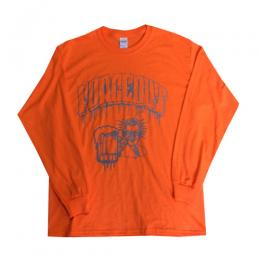"FORCE OUT - フォースアウト""615"" L/S TEE (SAFFTY ORANGE)"