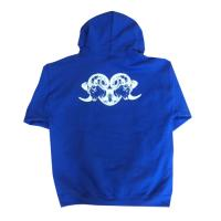 "BLACK SHEEP-ブラックシープ ""2 BLACK SHEEP "" HOOD (BLUE)"