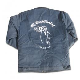 "4Q CONDITIONING -""THROTTLE"" ワークジャケット (NAVY)"