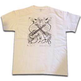"THE LARB ""YER AN ASSHOLE"" S/S Tシャツ (白)"
