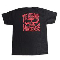 "THE HIGHWAY MURDERERS  ""JASON JESSEE""  Tシャツ (黒x赤)"