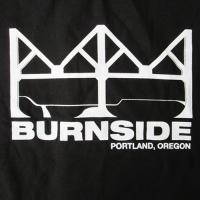 BURNSIDE SKATEPARK S/S TEE (BLACK)