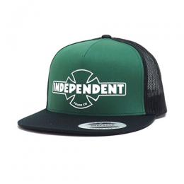 "INDEPENDENT- ""OG FLEXF TRUCKER"" MESH CAP (GREEN)"