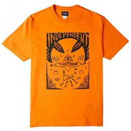 "INDEPENDENT- ""SAM HITZ"" S/S Tシャツ (ORANGE)"