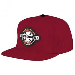 "INDEPENDENT- ""95 BTG RING"" SNAPBACK CAP (MAROON)"