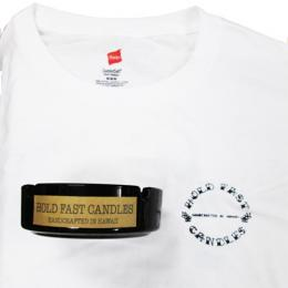 "HOLD FAST CANDLES - ""ASHTRAY CANDLES"" Tシャツセット"