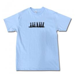 "OUR LIFE - アワーライフ ""Abduction"" S/S Tシャツ (L.BLUE)"