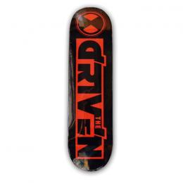 "THE DRIVEN - ザ ドリブン ""LOGO"" DECK (BLACKxRED)"