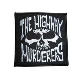"THE HIGHWAY MURDERERS  ""LOGO"" ワッペン PATCH (黒)"
