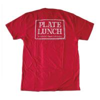 "PLATE LUNCH - プレートランチ ""CLASSIC"" S/S Tシャツ(RED)"
