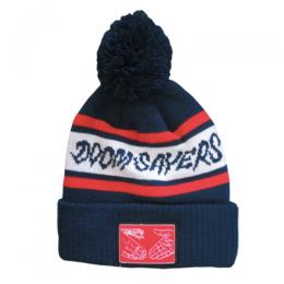 "DOOM SAYERS ""SxS PATCH""ボンボンビーニー (NAVY/RED)"