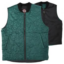 "INDEPENDENT - ""CORE REVERSIBLE"" VEST (GREEN/BLACK)"
