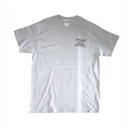 "MAKA LASSI - マカラッシ ""MAKA CONSTRUCTION"" S/S TEE (灰)"