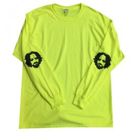 "BLACK SHEEP SKATES-""BS-MANSON"" L/S TEE (YELLOW)"