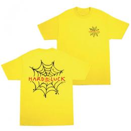 "HARD LUCK - ハードラック ""ANDY ROY SPIDER"" Tシャツ (YELLOW)"